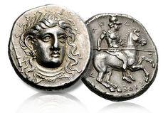 Makadonian coin