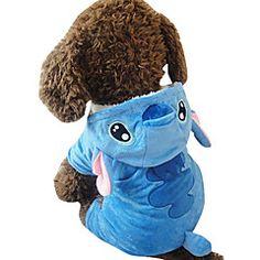 Perro+Disfraces+Ropa+para+Perro+Cosplay+Animal+Azul+Disfraz+Para+mascotas+–+USD+$+33.74