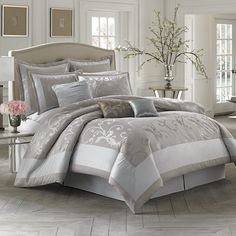 Palais Royale™ Adelaide California King Comforter Set. My current comforter. Love it!!!