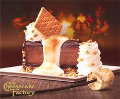 Celebrate National Cheesecake Day at The Cheesecake Factory! Yummy Treats, Delicious Desserts, Sweet Treats, Yummy Food, National Cheesecake Day, Toasted Marshmallow, Sweets Recipes, Cat Recipes