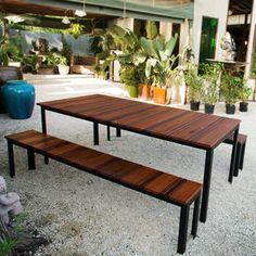 Handmade Wood And Steel Furniture