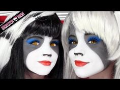 The Werecat Sisters Monster High Doll Costume Makeup Tutorial for Cosplay or Halloween