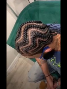 Cornrow Hairstyles For Men, Natural Hair Styles, Long Hair Styles, Girls Braids, Different Hairstyles, Cornrows, Braid Styles, Hair Goals, Hair Ideas