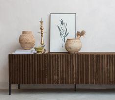 WOOOD Exclusive Gravure tv meubel essen - Basiclabel Decor, Furniture, Living Room, Room Inspo, Home, Storage, Cabinet, Living Room Inspo, Room