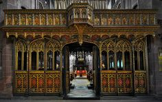 MANCHESTER CATHEDRAL ROOD