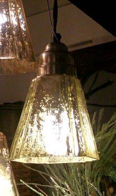 Mercury Gl Pendant Light Deco Style Lighting Silver Hanging Globe