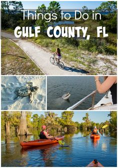 Gulf County, Florida paired with the Gulf County Adventure Guide has everything you'd need for a perfect family vacation all in one! Top 5 ADVENTURES that would be a must for any family visiting the region. Port St Joe Florida, Miss Florida, Florida Travel, Florida Beaches, Florida Living, Travel With Kids, Family Travel, Stuff To Do, Things To Do