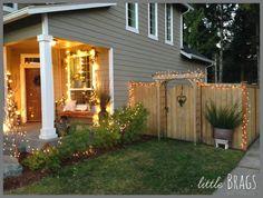 Little Brags: Finally, A Christmas Porch
