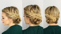 The most adorable, soft, and perfect fishtail bridal updo for my wedding !!! Thanks Missy Sue for this lovely tutorial. <3