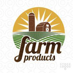Farm Logo | Logo Design sample made by LDIN #logo #logodesign