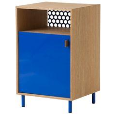 meuble rangement cabinet ferm living bleu