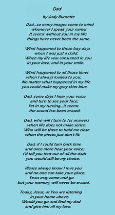 Miss you Daddy <3
