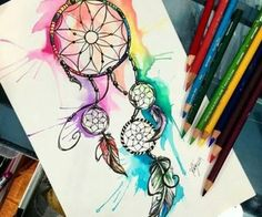 Image result for cool colourful images to draw
