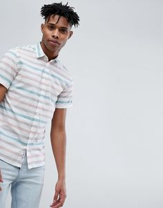 Only & Sons | Only & Sons Short Sleeve Striped Shirt