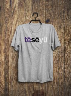 Phonetic TCU Shirt by SussiesHome on Etsy https://www.etsy.com/listing/212312005/phonetic-tcu-shirt