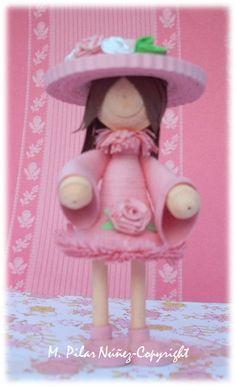 Crea Quilling: Muñeca rosada