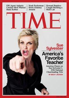 #Glee - Sue Sylvester