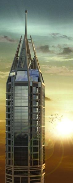 23 Marina (Residential Skycraper), Dubai_香の诱 - 美丽鸟