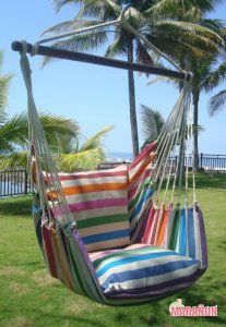 LazyRezt Hanging Chair XL Colour [XL] : Quality Hammocks And Hanging Chairs,  Marañon World Of Hammocks