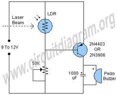 Digital Variable Resistor Circuit Diagram | Electronics Projects ...