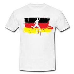 Pünktlich zur Europameisterschaft 2012 gibt es SCHALALALALALALLALALAAAAAAAA!!!!!!!!!! Motive also zeig das du ein absoluter Deutschland Fan bist mit diesem aufälligen MotivT-Shirts.