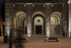 Rieti municipal building – Rieti, Italy-  Lighting products: iGuzzini…
