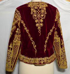 Veste Ottomane XIXème - vêtements et costumes anciens