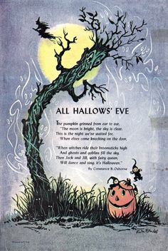 "craftypantscarol: "" Jack and Jill Oct 1963 via and everything else too "" halloween cheesesticks"