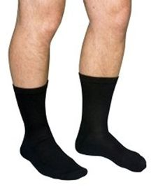 a097c30eaa SCOTT Diabetic Compression Socks Crew X-Large Black Closed Toe ( MCO1680  BLA XL,