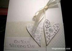 Cartões de convite de casamento elegante 2