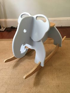 Hand Crafted Elephant Rocker Hand Crafted Elephant Rocker Bernhard Stromer bernhardstromin Holz-Ideen This elegant handmade elephant rocker is the perfectly adorable addition to any nbsp hellip