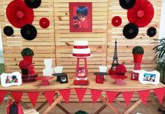 Festa Ladybug e Cat Noir - Miraculous: mais de 30 ideias incríveis para você fazer a sua! Veja aqui ideias de decoração da Ladybug e do Cat Noir!