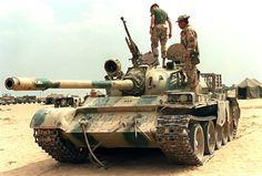 Captured Iraqi Type 59 Operation Desert Storm 17-MAR-1991