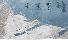 Student Project | Pier 80 – A New Pivot Point in the San Francisco Bay Area | Jia Zhong #landscapearchitecture #concept #design #pier80 #plan