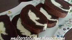 RETETE: Rulada rapida cu branza si ciocolata Desserts, Food, Tailgate Desserts, Deserts, Essen, Postres, Meals, Dessert, Yemek