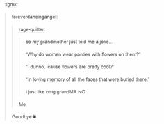 Grandma got jokes!