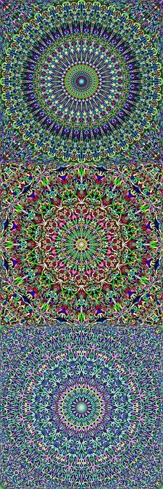 Buy 12 Floral Mandala Seamless Patterns by DavidZydd on GraphicRiver. Bohemian Art, Bohemian Design, Boho Designs, Mandala Pattern, Mandala Design, Mandala Art, Symmetry Design, Pretty Wallpapers, Background Patterns