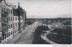Pozrite si unikátne fotografie starej Bratislavy Bratislava, Old Street, Arches, Old Photos, Paris Skyline, Milan, Travel Destinations, Sidewalk, Country Roads