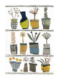 Pot Shelves Jane Robbins