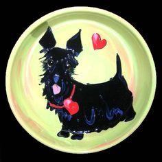 Client Order: Scottish Terrier Dog Bowl