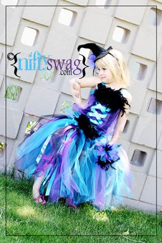 Sparkle Witch Corset Tutu Costume Set Made Just For by niftyswag, $85.00