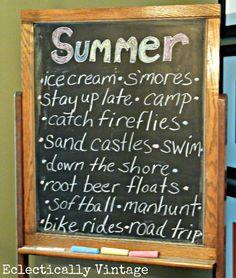 Summer Fun Chalkboard