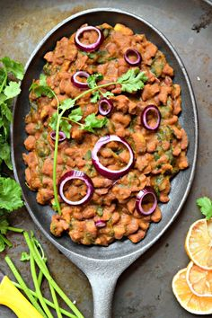Kidney Beans Indian Stew/Rajma Masala With Spinach - Rajma Masala is a restaurant style recipe. This popular Punjabi curry made with kidney beans is aromatic, lightly spiced, creamy, delicious and nutritious.