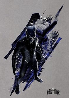 Black Panther Movie Poster 2018 Featuring T'Challa In the New Suit, Check Out The Black Panther Trailer Breakdown and Missed Details - DigitalEntertainmentReview.com