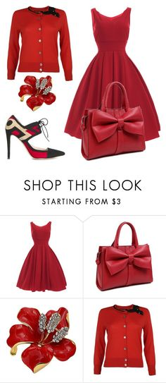 """""""2 Winners Win $20 Cash from Rosegal!"""" by subvilli on Polyvore featuring Marc Jacobs, The Wandering Collective, vintage, red, Elegant, feminine and passionate"""