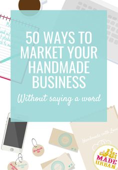 If you don't like selling, talking or having the spotlight on you, you'll get a ton of ideas to silently market your handmade business. Etsy Business, Craft Business, Creative Business, Business Tips, Online Business, Bakery Business, Business Branding, Business Casual, Online Marketing