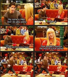 Prove it. #Phoebe #Mike