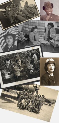 """The government-led mobilization of women for World War II (1939-1945) expanded women's roles to include those traditionally considered """"men's work,"""" highly skilled jobs such as pilots, mechanics, and radio engineers. Nearly 400,000 women served in the military over the course of the war; ten times the number who served during World War I (1914-1919). Women also joined humanitarian organizations such as the American Red Cross and the United Service Organizations (USO)."""