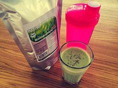 Starting the day right! :) #smoothieoffensive #nurafit #barleygrass #gerstengras #smoothie #smoothies #eatclean #food