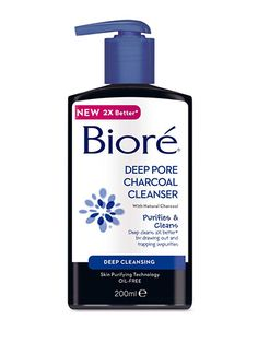 Sure, it may be coming into contact with your skin, but it's wise to remember a cleanser will be going down the drain. So, skip the fussy, pricey stuff and grab one that reaches deep; Biore Deep Pore Charcoal Cleanser feels cooling on tired skin. 30 NEW SEASON BUDGET BUYS UNDER £20 BINKY FELSTEAD'S UNCONVENTIONAL BEAUTY TIP: CHILLI BUDGET BEAUTY TIPS TO LOOK FABULOUS